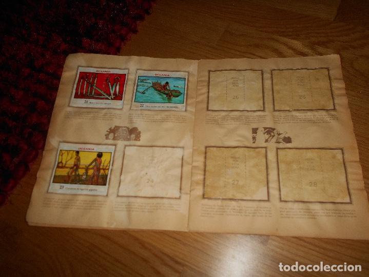 Coleccionismo Álbumes: ALBUM OCEANIA DUNKIRAMA DUNKIN GALLINA BLANCA COLECCION NO COMPLETO CON 51 CROMOS - Foto 5 - 184647583