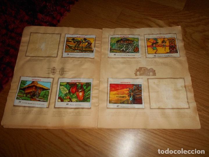 Coleccionismo Álbumes: ALBUM OCEANIA DUNKIRAMA DUNKIN GALLINA BLANCA COLECCION NO COMPLETO CON 51 CROMOS - Foto 7 - 184647583