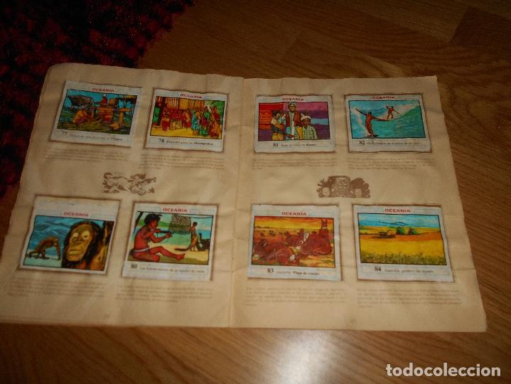 Coleccionismo Álbumes: ALBUM OCEANIA DUNKIRAMA DUNKIN GALLINA BLANCA COLECCION NO COMPLETO CON 51 CROMOS - Foto 12 - 184647583