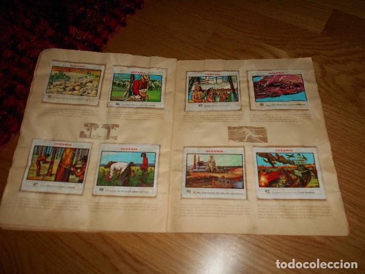 Coleccionismo Álbumes: ALBUM OCEANIA DUNKIRAMA DUNKIN GALLINA BLANCA COLECCION NO COMPLETO CON 51 CROMOS - Foto 13 - 184647583