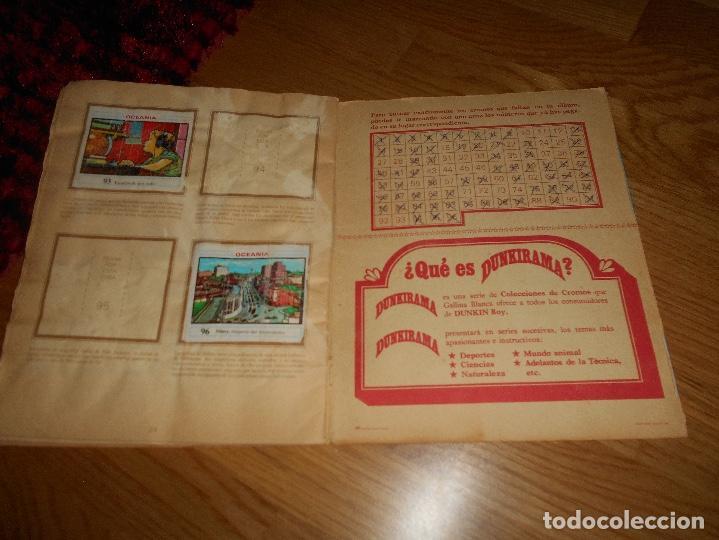 Coleccionismo Álbumes: ALBUM OCEANIA DUNKIRAMA DUNKIN GALLINA BLANCA COLECCION NO COMPLETO CON 51 CROMOS - Foto 14 - 184647583