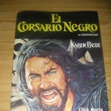 Coleccionismo Álbumes: ÁLBUM VACÍO DE EL CORSARIO NEGRO (PANRICO, 1977). Lote 168762144
