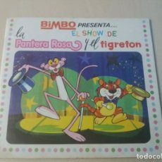 Coleccionismo Álbumes: ALBUM EL SHOW DE LA PANTERA ROSA Y EL TIGRETON - BIMBO 1974 - FALTAN 18 CROMOS DE 77 . Lote 169010864