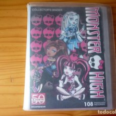Coleccionismo Álbumes: ALBUM MONSTER HIGH PHOTOCARDS - INCOMPLETO. Lote 169361428