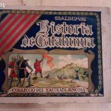 Coleccionismo Álbumes: 'HISTÒRIA DE CATALUNYA'. XACOLATA JUNCOSA.. Lote 169591524
