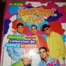 Coleccionismo Álbumes: ALBUM CHICLE BACKSTREET BOYS 1997. Lote 169624445