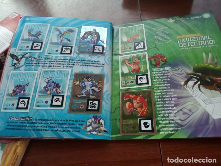 Coleccionismo Álbumes: Album Invizimals faltan unos 20 cromos + 38 para cambios - Foto 4 - 169826744