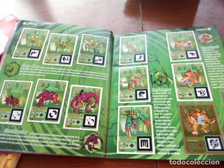 Coleccionismo Álbumes: Album Invizimals faltan unos 20 cromos + 38 para cambios - Foto 5 - 169826744