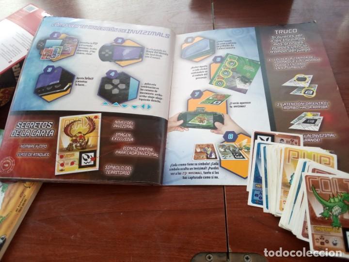 Coleccionismo Álbumes: Album Invizimals faltan unos 20 cromos + 38 para cambios - Foto 10 - 169826744