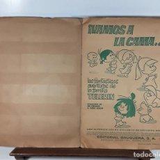 Coleccionismo Álbumes: ÁLBUM DE 180 CROMOS A COLOR. VAMOS A LA CAMA. INCOMPLETO. EDIT. BRUGUERA. 1965.. Lote 169956636