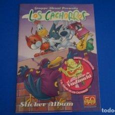 Coleccionismo Álbumes: ÁLBUM VACIO DE LOS CACHORROS AÑO 2011 DE PANINI. Lote 170036326