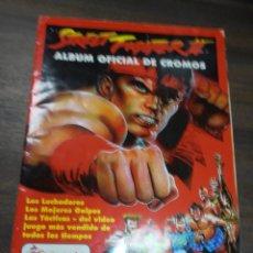 Coleccionismo Álbumes: ALBUM INCOMPLETO. STREET FIGHTER II. MERLIN COLLECTIONS. FALTAN 11 CROMOS. BUEN ESTADO. VER FOTOS.. Lote 170071600