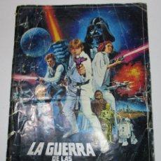 Coleccionismo Álbumes: ÁLBUM LA GUERRA DE LAS GALAXIAS STAR WARS PACOSA DOS,FALTAN 15 CROMOS. Lote 170352625