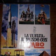 Coleccionismo Álbumes: ALBÚM DE CROMOS LA VUELTA AL MUNDO CON BIMBO.. Lote 170526656