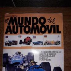 Coleccionismo Álbumes: ALBÚN DE CROMOS MUNDO DEL AUTOMOVIL. Lote 170527056