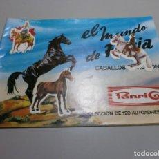 Coleccionismo Álbumes: ALBUM PANRICO EL MUNDO DE FURIA. Lote 171126477