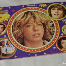 Coleccionismo Álbumes: SUPER LIBRO POP - ÁLBUM VACÍO - BUEN ESTADO - IDEAL PARA COMPLETAR - AÑOS 80 / REVISTA SUPER POP. Lote 171359978