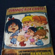 Coleccionismo Álbumes: 118-ALBUM DE CROMOS VAMOS A LA CAMA, FAMILIA TELERIN, EDITORIAL BRUGUERA, 1965. Lote 171459288