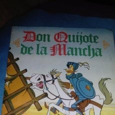 Coleccionismo Álbumes: ÁLBUM . DON QUIJOTE DE LA MANCHA. DANONE. FALTAN 2 CROMOS. Lote 171806567