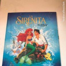 Coleccionismo Álbumes: LA SIRENITA - PANINI. Lote 172059220