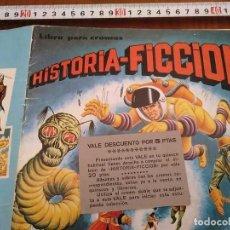 Coleccionismo Álbumes: ALBUM HISTORIA FICCION Y VALERIA DESCUENTO LIBRO PARA CROMOS HISTORIA-FICCION AÑOS 80 EDITORIAL MAGA. Lote 172060419