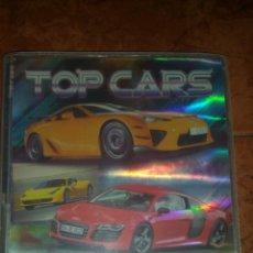 Coleccionismo Álbumes: TOP CARS ÀLBUM + 60 FICHAS.MUNDICROMO 2013. Lote 172243244