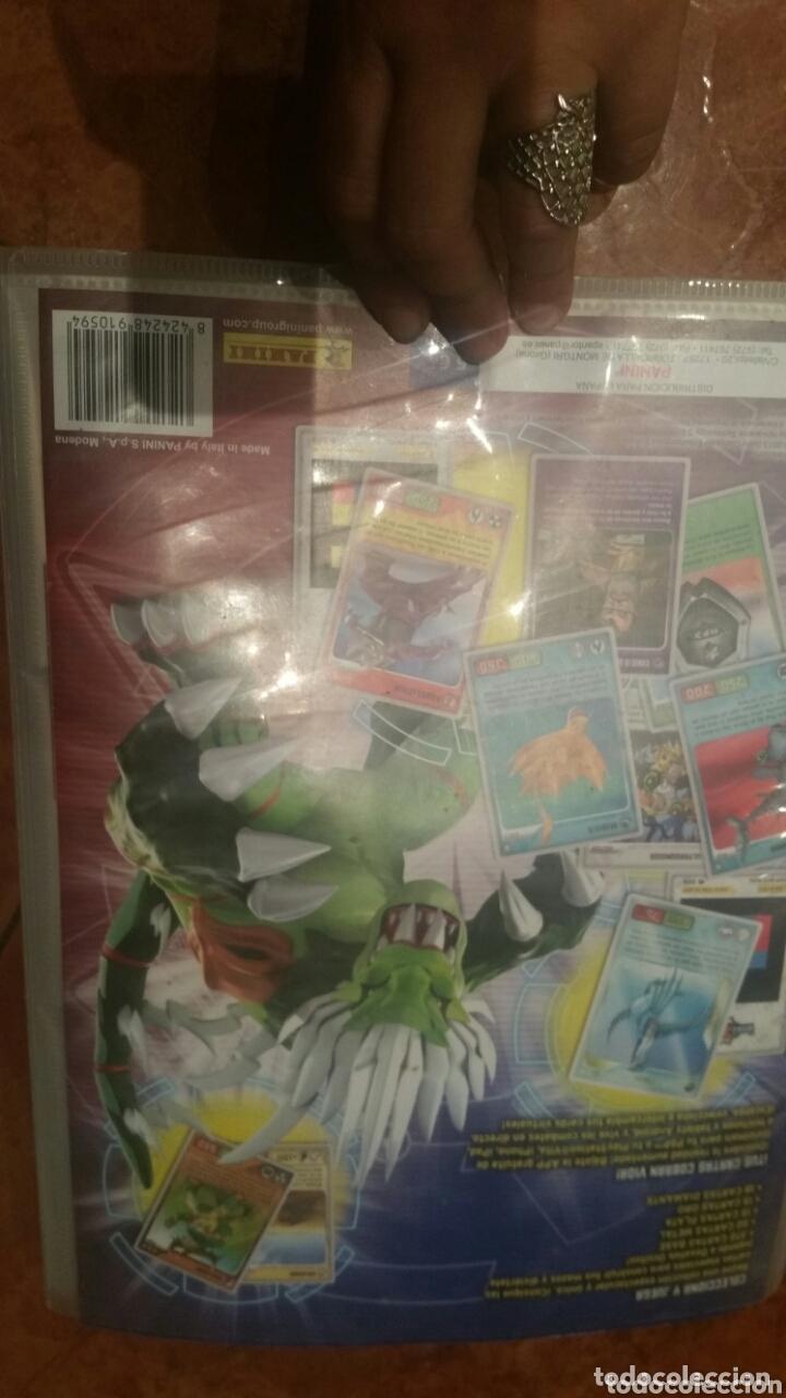 Coleccionismo Álbumes: Álbum Invizimals Desafíos Ocultos bastante completo + lote cartas - Foto 10 - 172368457