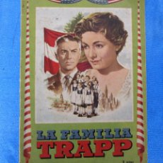Coleccionismo Álbumes: ÁLBUM INCOMPLETO. LA FAMILIA TRAPP. EDITORIAL FHER, BILBAO, 1958.. Lote 172466705