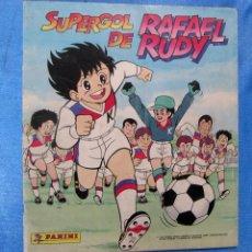 Coleccionismo Álbumes: ÁLBUM INCOMPLETO. SUPERGOL DE RAFAEL RUDY. PANINI, 1988.. Lote 172468037