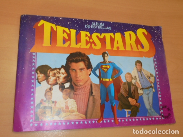 - RESERVADO AL USUARIO JOAQUINAMO66 - ALBUM CROMOS TELE STARS IN COMPLETO FALTAN 17 CROMOS DE 209 (Coleccionismo - Cromos y Álbumes - Álbumes Incompletos)