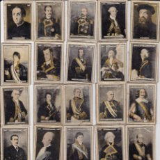 Coleccionismo Álbumes: 29 CROMOS C/CERILLAS 1920 ARMADA ESPAÑOLA. Lote 172889110