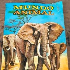 Coleccionismo Álbumes: ALBUM MUNDO ANIMAL FHER VACIO. Lote 173245704