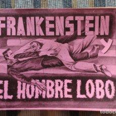 Coleccionismo Álbumes: ALBUM DE CROMOS FRANKENSTEIN Y EL HOMBRE LOBO - COMPLETO MENOS 1 CROMO (FHER 1946). Lote 173600418