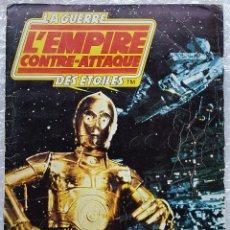 Coleccionismo Álbumes: EL IMPERIO CONTRAATACA, ALBUM CROMOS FRANCÉS (STAR WARS, FHER, 1980,GUERRA DE LAS GALAXIAS). Lote 173877934