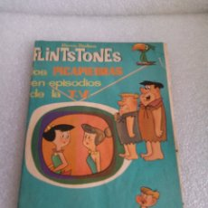 Coleccionismo Álbumes: ÁLBUM FLINTSTONES LOS PICAPIEDRAS EN EPISODIOS DE LA T.V. FHER AÑO 1963 COMPLETO A FALTA DE 1 CROMO. Lote 173962088