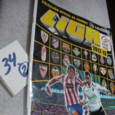 Coleccionismo Álbumes: ALBUM CROMOS FUTBOL. LIGA 12-13. Lote 174041328