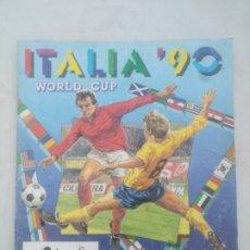 Coleccionismo Álbumes: ALBUM PANINI ITALIA 90 INCOMPLETO. Lote 174043357