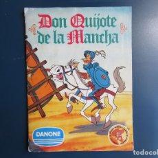 Coleccionismo Álbumes: ÁLBUM DON QUIJOTE DE LA MANCHA. DANONE. INCOMPETO.. Lote 174366727