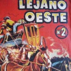 Coleccionismo Álbumes: EL LEGANO OESTE Nº 2 .FALTAN 4 CROMOS. Lote 174543577