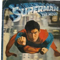 Coleccionismo Álbumes: SUPERMAN. THE MOVIE. ÁLBUM. FALTAN 17 CROMOS. FHER. 1978. INCOMPLETO. (ST/PN2). Lote 174549520