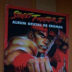 Coleccionismo Álbumes: ALBUM CROMOS STREET FIGHTER II. 205 CROMOS DE 240.. Lote 174861357