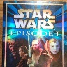 Coleccionismo Álbumes: STAR WARS EPISODE I. Lote 175125489