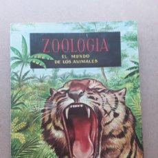 Coleccionismo Álbumes: ALBUM,ZOOLOGIA EL MUNDO DE LOS ANIMALES,EDICIONES FERCA,1961. Lote 175244687
