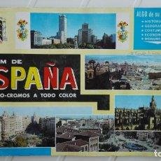 Coleccionismo Álbumes: ALBUM DE CROMOS ESPAÑA, FALTAN 33 CROMOS DE 315. Lote 175277304
