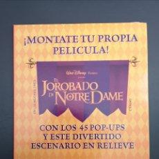 Coleccionismo Álbumes: EL JOROBADO DE NOTRE DAME. ESCENARIO EN RELIEVE.. Lote 175532608