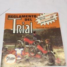 Coleccionismo Álbumes: ÁLBUM TRIAL GARRO. Lote 175720420