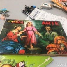 Coleccionismo Álbumes: ÁLBUM MAGA ARTE INCOMPLETO - VER LAS FOTOS. Lote 175728762