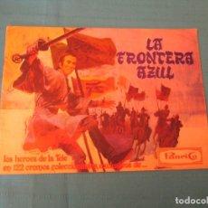 Coleccionismo Álbumes: LA FRONTERA AZUL PANRICO. Lote 175829260