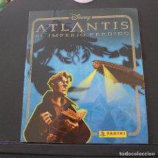 Coleccionismo Álbumes: ALBUM ATLANTIS EL IMPERIO PERDIDO DE PANINI INCLUYE POSTER. Lote 176077269