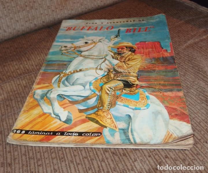 ALBUM VIDA Y AVENTURAS DE BUFFALO BILL,EDICIONES FERCA,FALTAN 24 CROMOS (Coleccionismo - Cromos y Álbumes - Álbumes Incompletos)